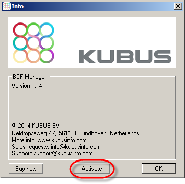 Kubus Activation